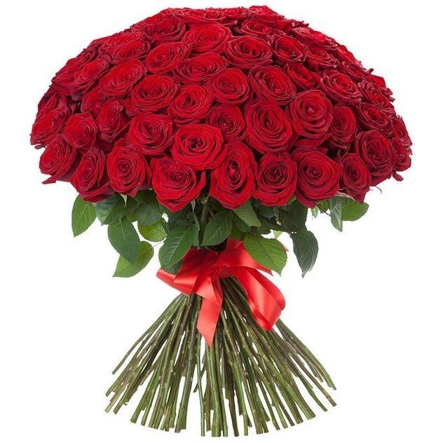 Букетик 101 российская роза