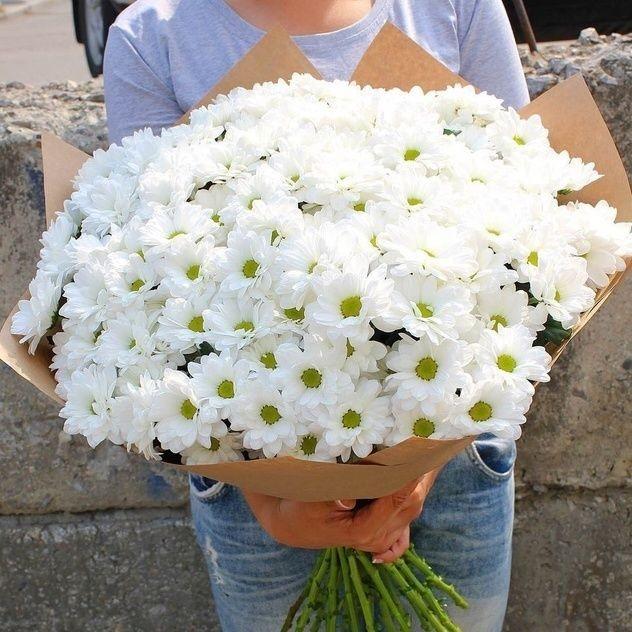 Букет изумительной кустовой хризантемы