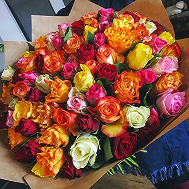 101 роза. Букет №110