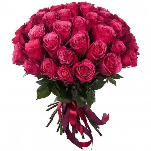 Букет фиолетовой розы