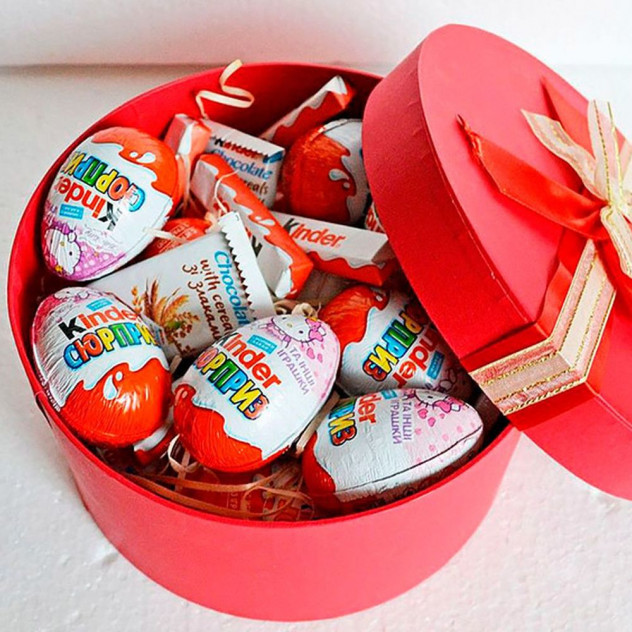 Коробочка со сладостями №11