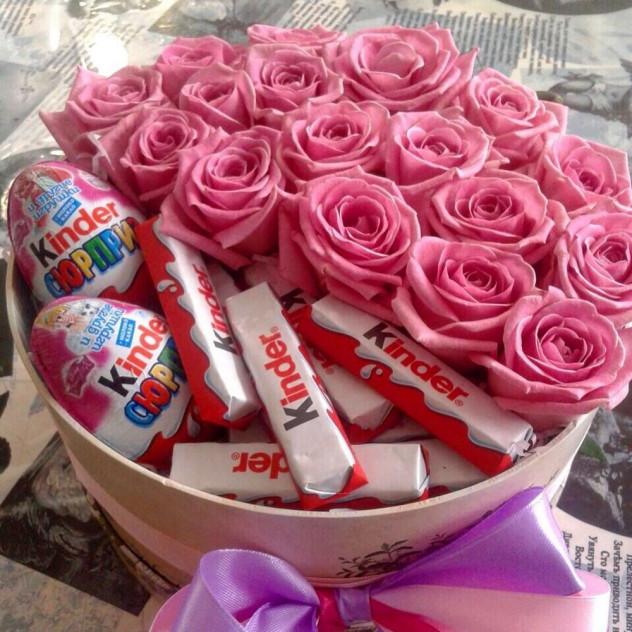 Коробочка со сладостями №15